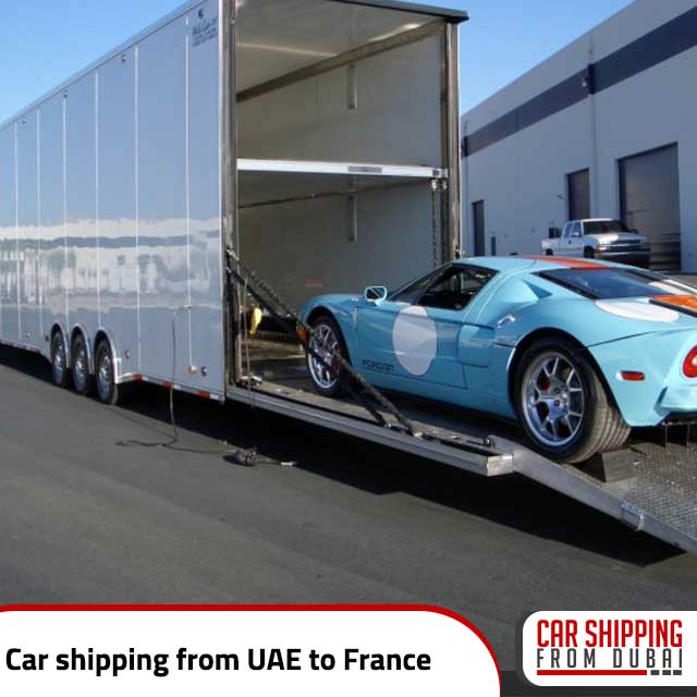 , Car shipping from UAE to France