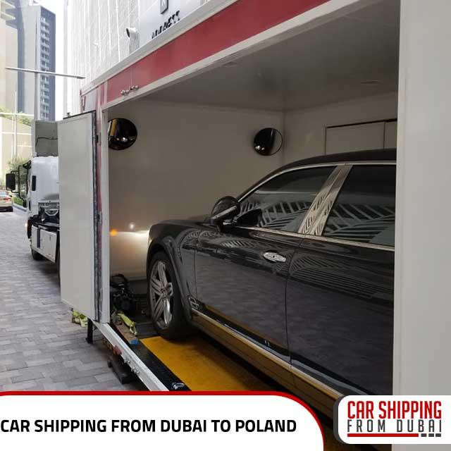 Car shipping from Dubai to Poland