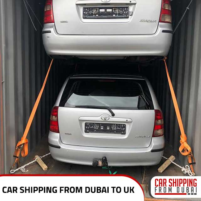, Car shipping from Dubai to UK