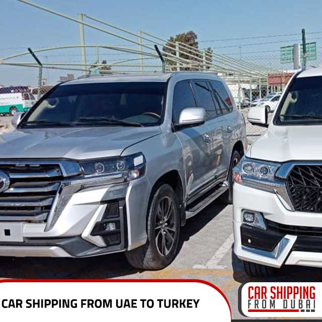Car shipping from UAE to Turkey