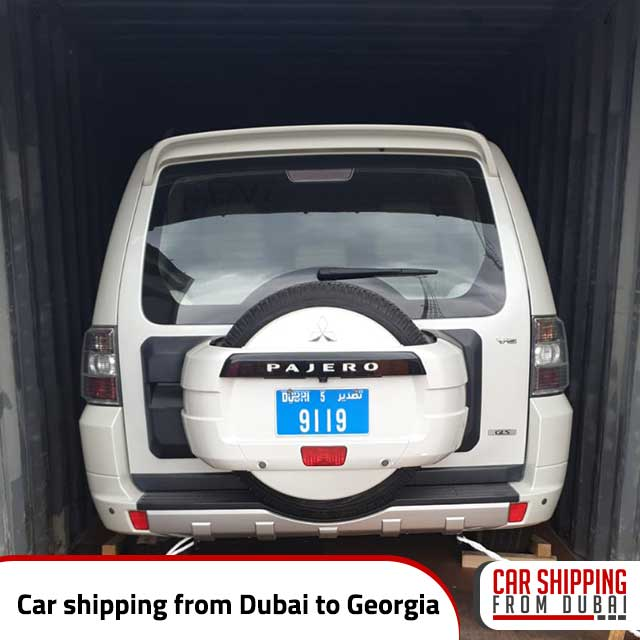 Car shipping from Dubai to Georgia