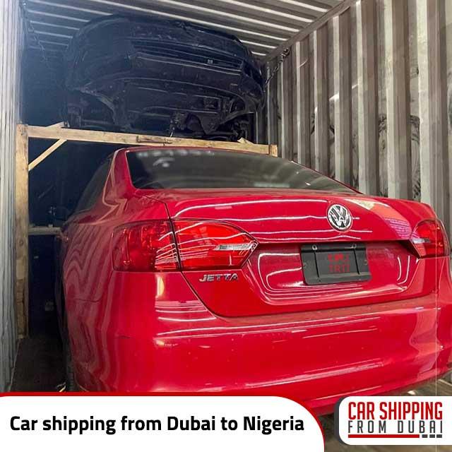 Car shipping from Dubai to Nigeria