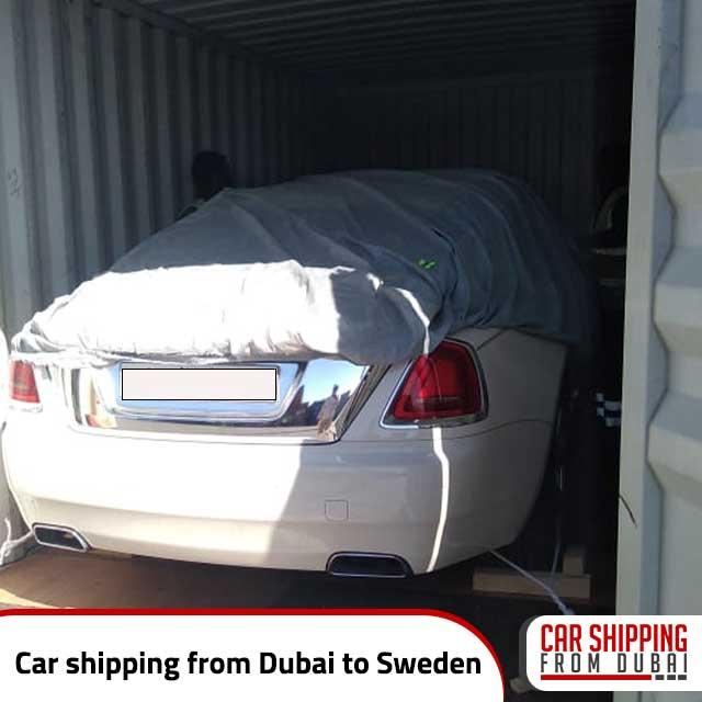 Car shipping from Dubai to Sweden