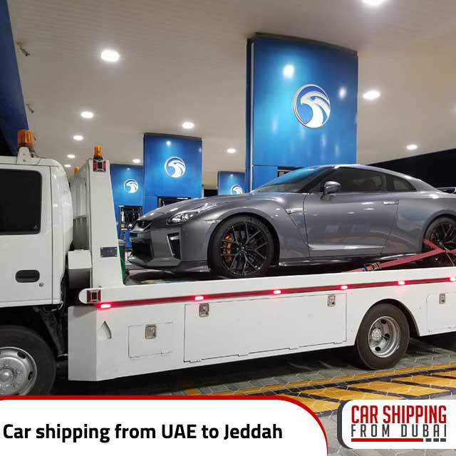 Car shipping from UAE to Jeddah