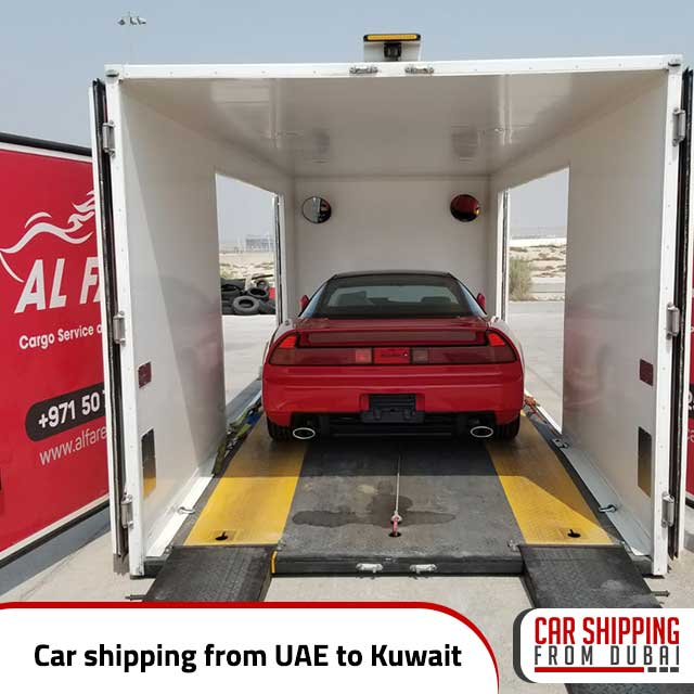 Car shipping from UAE to Kuwait