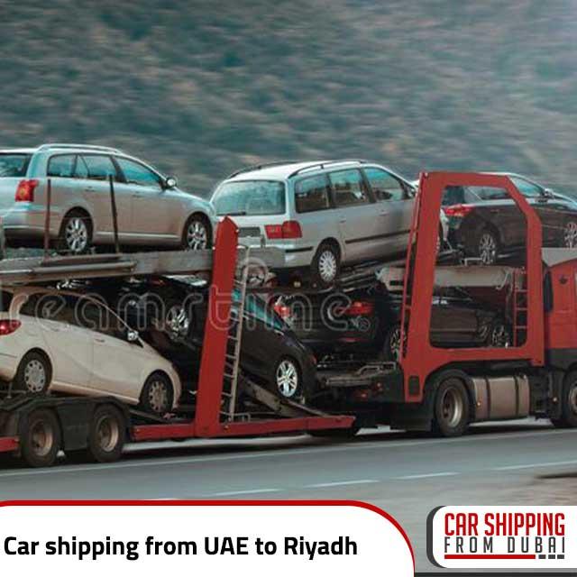 Car shipping from UAE to Riyadh
