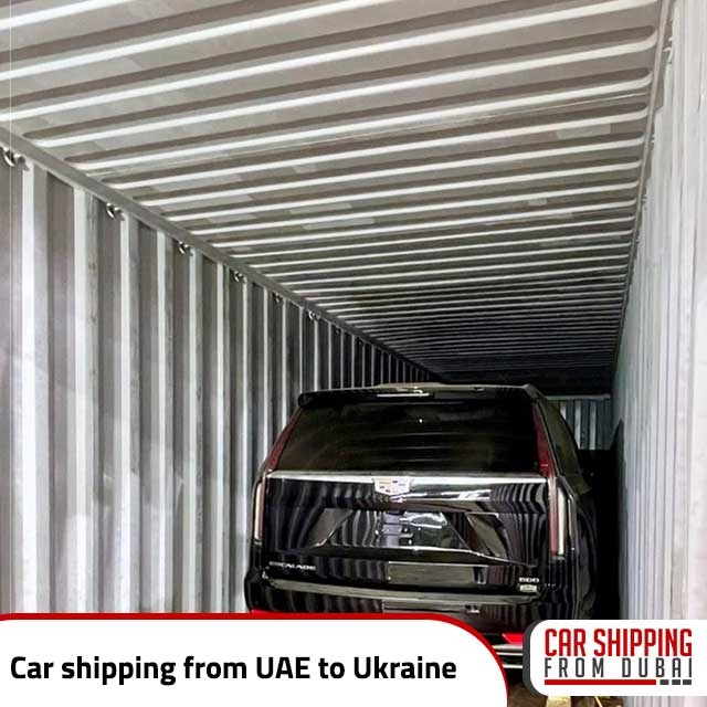 Car shipping from UAE to Ukraine